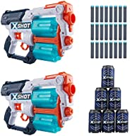X-Shot Excel -Xcess TK-12 Double Pack(6Cans,24Darts)