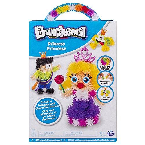 Bunchems-Princesse Jouet Créatif, Multicolore (Bizak, S.A. 61926815_ 1)
