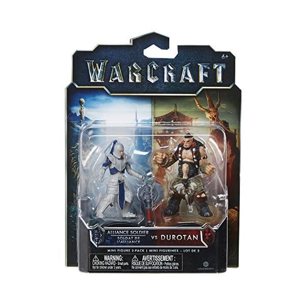 Warcraft Mini Figure Durotan & Alliance Soldier Action Figures (2 Pack) by Warcraft 5