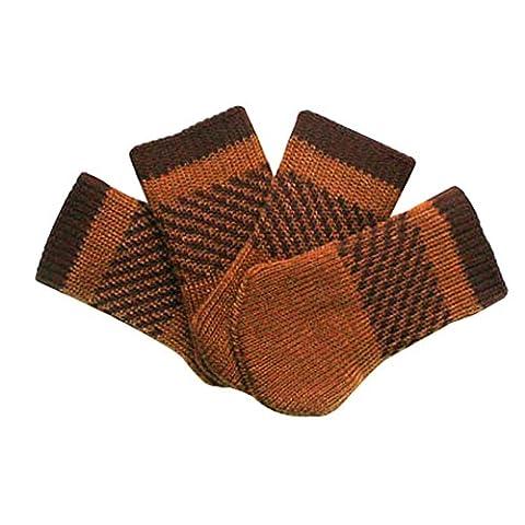 Meubles Knit Socks sol Protector Épaissir Chaise / Table Jambières 24 PCS-A21