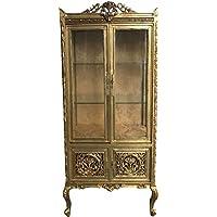 Comparador de precios Casa-Padrino Baroque Display Cabinet Gold ModF7 - Double Display Cabinet - precios baratos