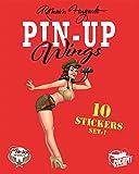 Pin-Up Wings - Pochette de stickers Avion