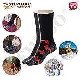 Stepluxe Anti-Cold Socks Chaussettes Thermiques avec Fibres en Aluminium – Original en publicité TV