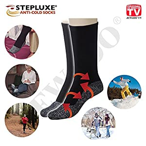 Stepluxe® Anti-Cold Socks Thermosocken mit Aluminiumfaser – Original aus TV-Werbung