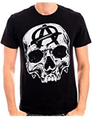 Sons of Anarchy Big Skull Head - T-shirt - Imprimé - Col rond - Manches courtes - Homme
