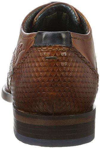 Bugatti 311163042500, Derby Homme Marron (Cognac 6300)