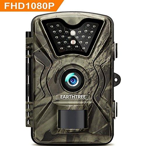 Earthtree Wildkamera, 12MP 1080P Full HD...