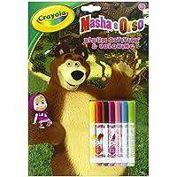 Crayola Masha e Orso Album da Colorare