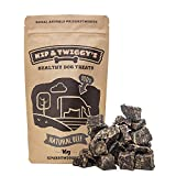 Healthy, Natural Dog Treats - Delicious 100% Dried Beef Snacks For Dogs - Healthy, Raw, Grain Free, Doggy Treat - Gluten Free, Lactose Free, Soft Dehydrated Pet Reward Bite Chews | 90g x 3 Bags