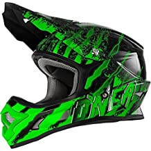 0603KC-103 - Oneal 3 Series Kids Mercury Motocross Helmet M Black/Green