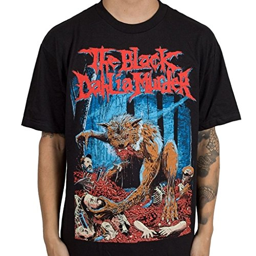 Black Dahlia Murder The Fog Men's Black Maglietta