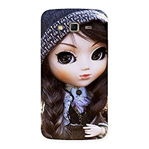 Gorgeous Sweet Angel Doll Multicolor Back Case Cover for Samsung Galaxy Grand 2