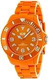 ICE-Watch - Montre Mixte - Quartz Analogique - Ice-Solid - Orange - Big - Cadran Orange - Bracelet Plastique Orange - SD.OE.B.P.12