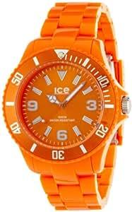 Ice-Watch Unisex-Armbanduhr Analog Quarz ice-Solid Big Orange SD.OE.B.P.12