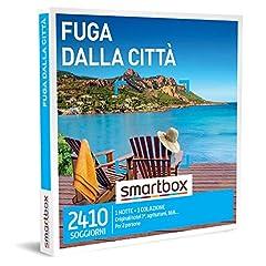 Idea Regalo - SMARTBOX - Cofanetto regalo coppia- idee regalo originale -  2 giorni di relax fuori città