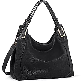 Handbags IN ANGEL Women Handbags Tote Shoulder Bags Ladies Crossbody Hobo Bags PU Leather Handbags Satchel (L39cm * W16cm * H29cm)