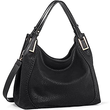 Handbags IN ANGEL Women Handbags Tote Shoulder Bags Ladies Crossbody Hobo Bags PU Leather Handbags Satchel (L39cm…
