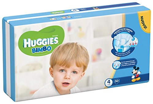 Huggies – Bimbo – Nappies – Size 4 (7 – 14 kg) – 50 Nappies 51X9iCkLAzL