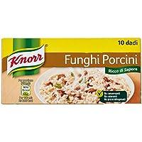 Knorr - Funghi Porcini, Senza Conservanti - 12 confezioni da 10 pezzi [120 pezzi]