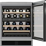Miele KWT 6321 UG refroidisseur à vin Intégré Gris 34 bouteille(s) B - Cave à vin (Intégré, Gris, Gris, 4 étagères, 1 portes(s), Noir)