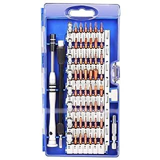 Kit Tournevis de Précision Magnétique 60 en 1, Tournevis Outils de Réparation Pour Portable, Ordinateur, Lunettes,Laptop,Appareil