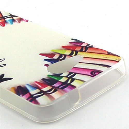 ANNNWZZD Soft TPU Case Tasche schutzhülle für Microsoft Lumia 550 Nokia N550 Cover / Case / Bumper Hülle Schutzhülle / Rückdeckel Schutzhülle / Handy Hülle / Ultra-thin soft shell,A07 A07