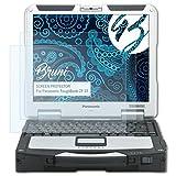 Bruni Schutzfolie für Panasonic ToughBook CF-31 Folie, glasklare Bildschirmschutzfolie (2X)