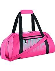 Nike Gym Club Bolsa de Deporte, Mujer, Rosa (Hyper Pink/ Black/ Hyper Turq), Única