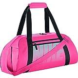Nike Damen Women's Gym Club Sporttasche Pink/Schwarz/Hyper Türkis, One Size