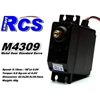 Price comparsion for 2x RCS Model M4309 RC Metal Gear High Torque R/C Hobby Standard Servo CA135