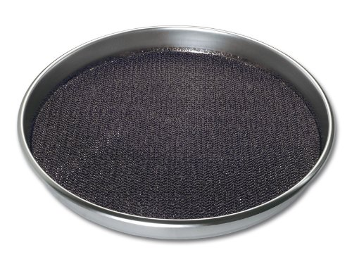 chg 3152-05 Serviertablett Antirutsch, extra starke Edelstahl rostfrei-Qualität 0,7 mm, Höhe: 4,0 - Kohleschale Dutch Oven