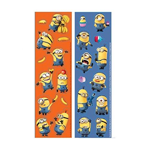 NEU Sticker-Set Minions, 8 Stück (Mini Minion Kostüm)