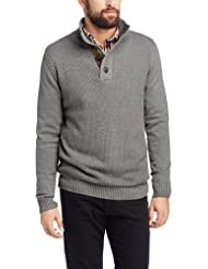 edc by ESPRIT Pull-over Col mao Manches longues Homme