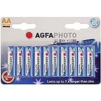 Agfaphoto 59869 Pack de 10 Piles Alkaline universel LR6/AA 2600 mAh