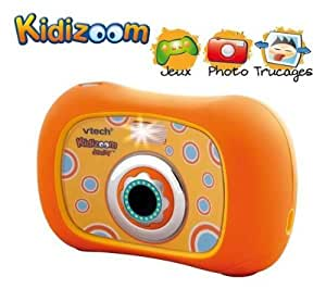 Vtech - 80-106905 - Appareil Photo - Kidizoom Junior - 3 en 1 - Orange