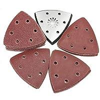 Cuchilla de Corte Afilada 51 piezas con disco de lijado for papel de lija de grano Bosch Fein 60-240 Hoja de Sierra