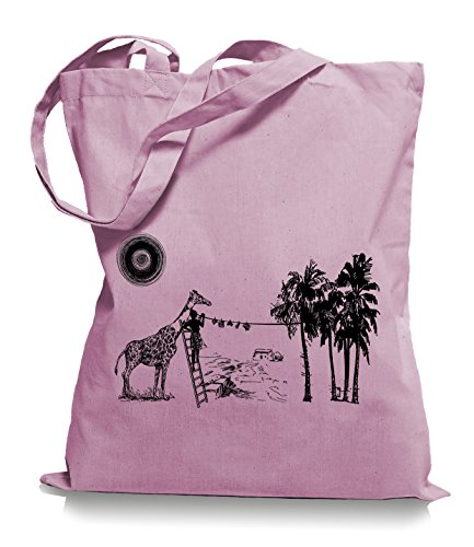 Ma2ca® Wash Day - Jutebeutel Stoffbeutel Tragetasche / Bag WM101 Classic Pink