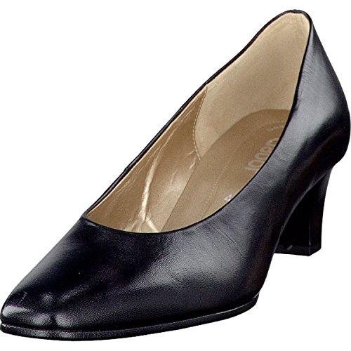 Gabor Damenschuhe Fashion 05.180.37 Damen Pumps mit gratis Gabor Socken schwarz, EU 38