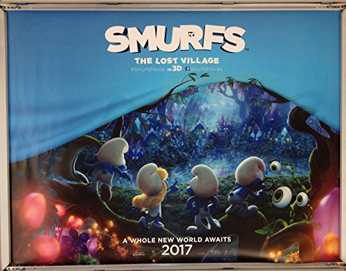 cinema-poster-smurfs-the-lost-village-2017-advance-quad-michelle-rodriguez