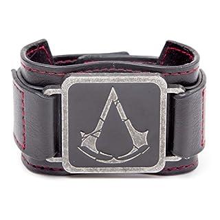 Assassins Creed Rogue Wristband with Logo (Black)