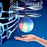 Fliegende Fee Puppe Hand Infrarot Induktion Kontrolle Puppen Kind fliegen Spielzeug Geschenk von Huhua (Music magic flashing crystal ball)