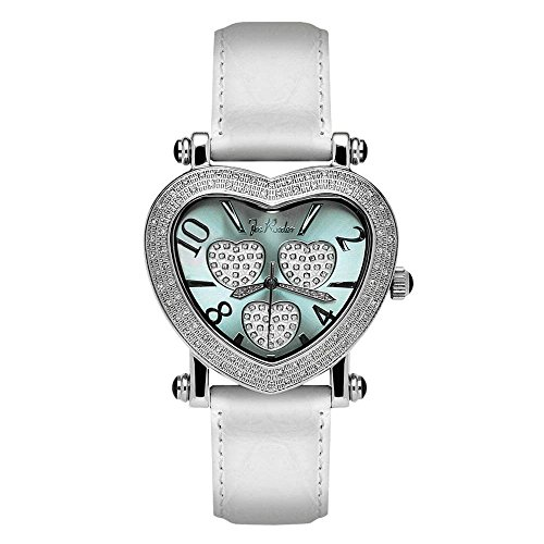 Joe Rodeo Diamant Femme Montre - MOVING HEART argent 0.75 ct