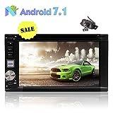Die besten EinCar Doppel-din Autoradios - Neueste Android 7.1 Doppel-DIN-Autoradio-Auto GPS-Navigation 6.2 Zoll Auto-DVD-Player Bewertungen
