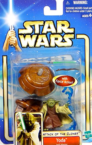 Yoda Jedi Master with Force Action