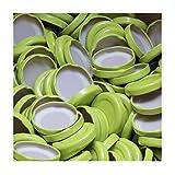 100 Stück X to 43 mm Grün Schraubdeckel für Gläser • Twist Off Deckel Verschluss Ø 43mm • Ersatzdeckel To43 • 25,50,100,150,200,250,500 Stück • Große Auswahl Verschiedene Größen und Farben