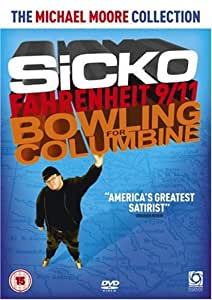 The Michael Moore Collection - Sicko, Fahrenheit 9/11, Bowling for Columbine [DVD] [2008]