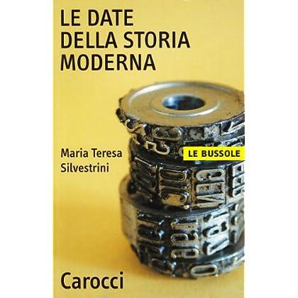 Le Date Della Storia Moderna