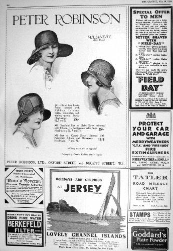vacances-1930-de-debardeur-de-chapeaux-de-robinson-woodrow-studington-turnbull-asser
