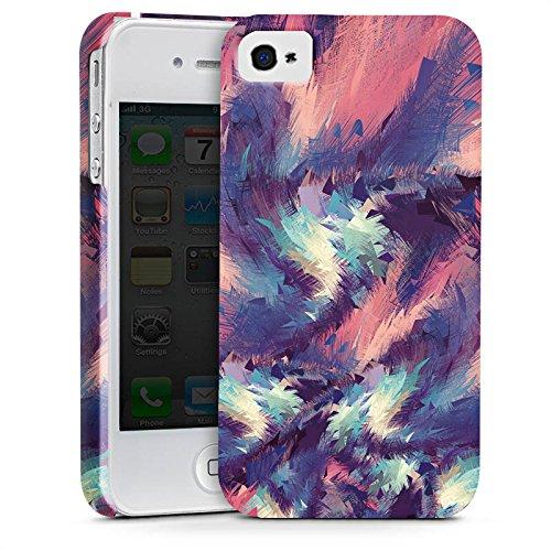 Apple iPhone X Silikon Hülle Case Schutzhülle Farben Muster Colorful Energy Premium Case glänzend