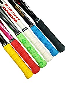 Alien Pros X-Dry Tennis Overgrip Tape (Set of 6 Grips) Perfect for Your Tennis Racket, Racquetball Grip, Squash Racquet and More Review 2018 by Alien Pros